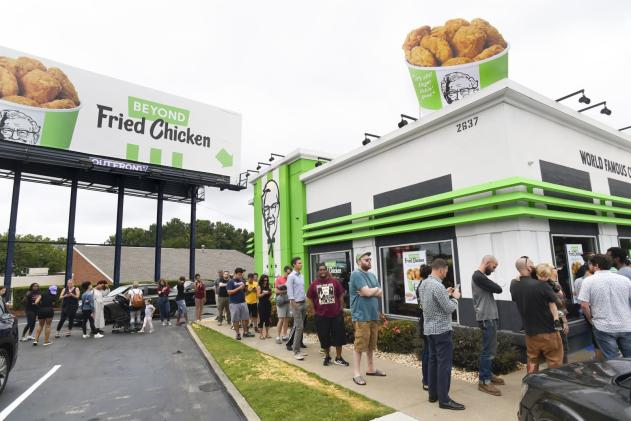 KFC's plant-based 'chicken' sold out in five hours