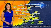 WBZ AccuWeather Morning Forecast For May 4