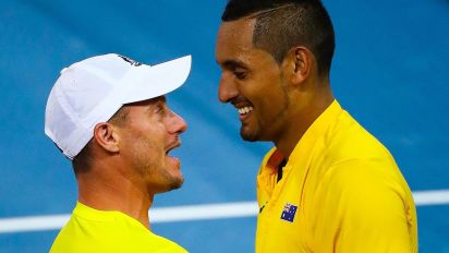 Hewitt and Kyrgios to play grass-court doubles