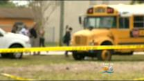 Parents Heated Argument On School Bus Ends In Stabbing