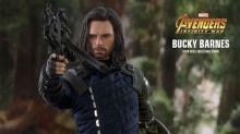 Una nueva figura de acción de Bucky Barnes ¡se desintegra como en Infinity War!