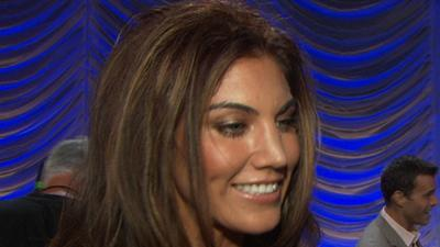 Hope Solo, Nancy Grace, Chynna Phillips And Elisabetta Canalis Talk Joining 'Dancing With The Stars'