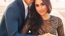 Meghan Markle's Misha Nonoo Wedding Guest Dress Reminds Us Of Her Engagement Photoshoot Gown