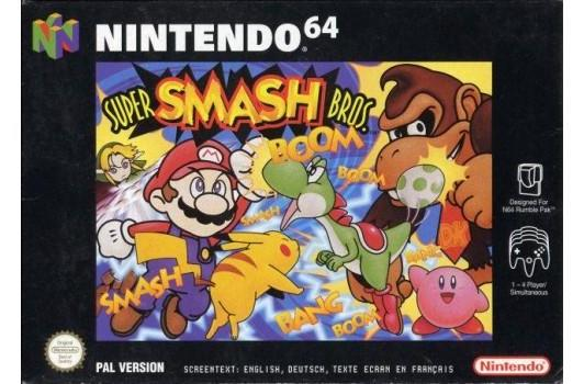 Original Smash Bros. rated by ESRB for Wii