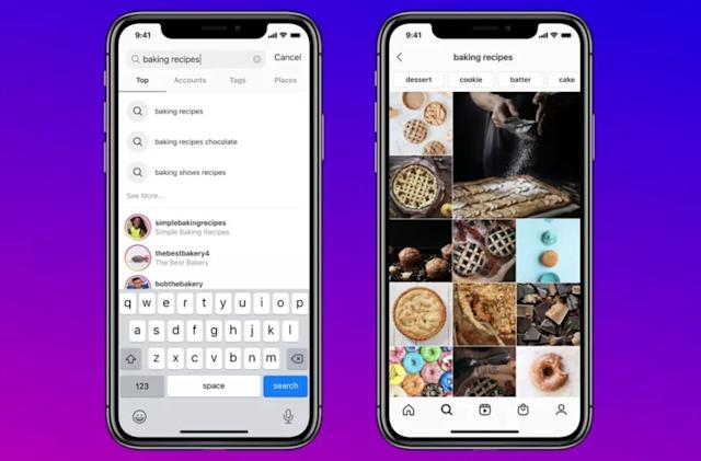 Instagram finally lets you search for posts by keyword