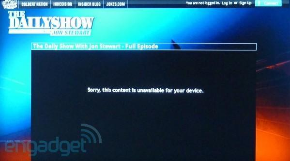 Viacom drops the ban hammer on Google TV devices, blocks streaming episodes