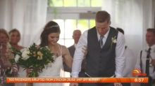 Sam Willoughby stands to marry wife after BMX accident
