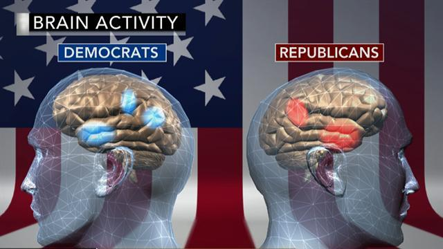 Politically predetermined: Does brain chemistry sway vote?