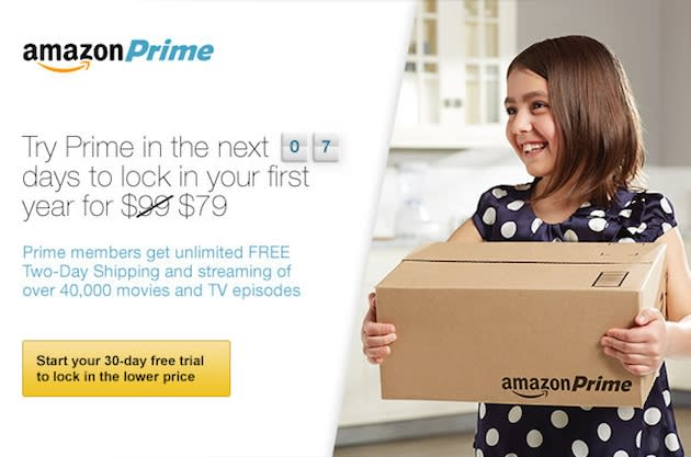 Amazon raising Prime subscriptions by $20 to $99 a year