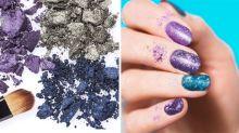 Transform Your Broken Makeup Into an A+ Manicure