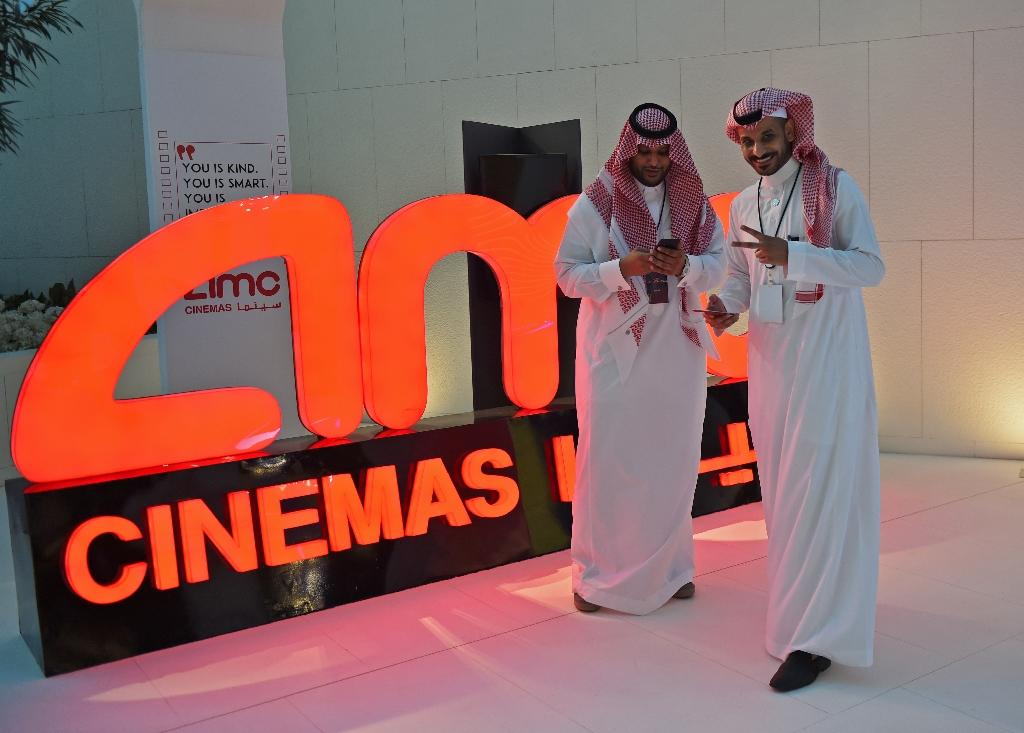 Religious hardliners, who have long vilified movie theatres as vulgar and sinful, were instrumental in shutting them down in the 1980s (AFP Photo/Fayez Nureldine)