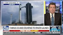 Neil Cavuto Joins TV-News Countdown to SpaceX Launch