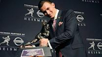 'Johnny Football' is now 'Johnny Heisman'