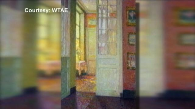 Valuable Painting Found in Pittsburgh Public School