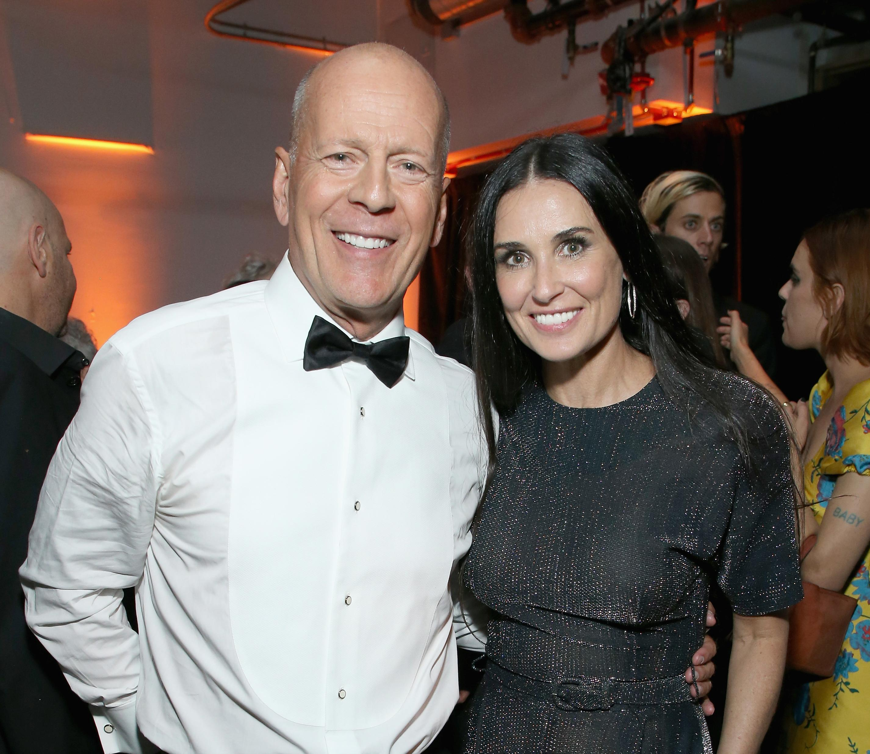 Bruce Willis Renews His Wedding Vows