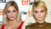 Cara Delevingne and Rumored GF Ashley Benson Were Seen Together at Paris Fashion Week