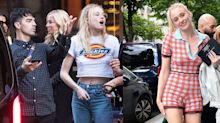 Sophie Turner Has the Chillest Pre-Wedding Style in Paris