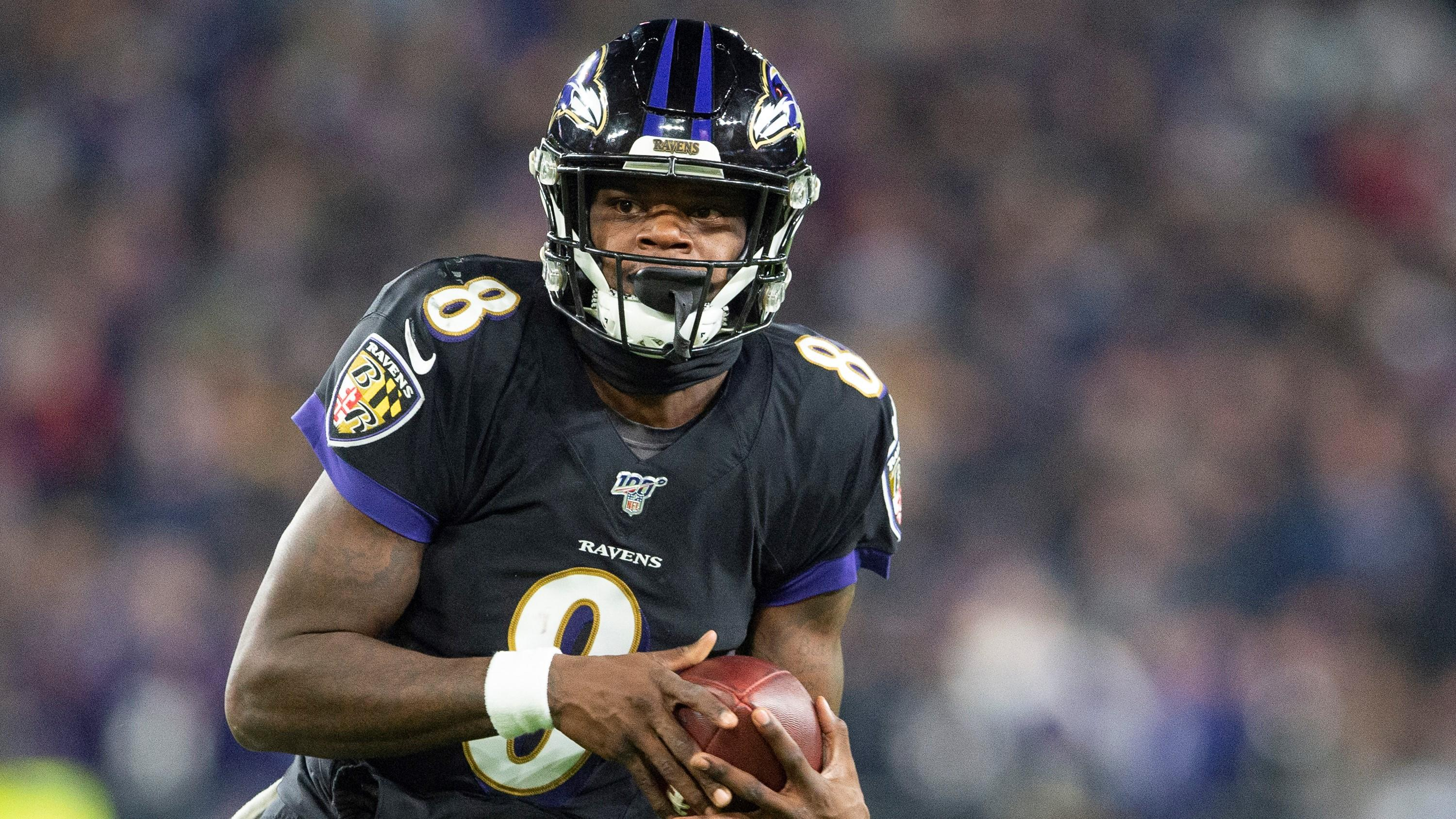 Lamar Jackson admits he cried after seeing himself on Madden 21 cover