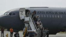 Búsqueda en Chile: hallan partes del avión militar desaparecido y restos humanos