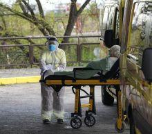 Spain's coronavirus death rate quickens again