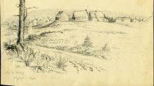 Rare sketches depict New Brunswick before photography