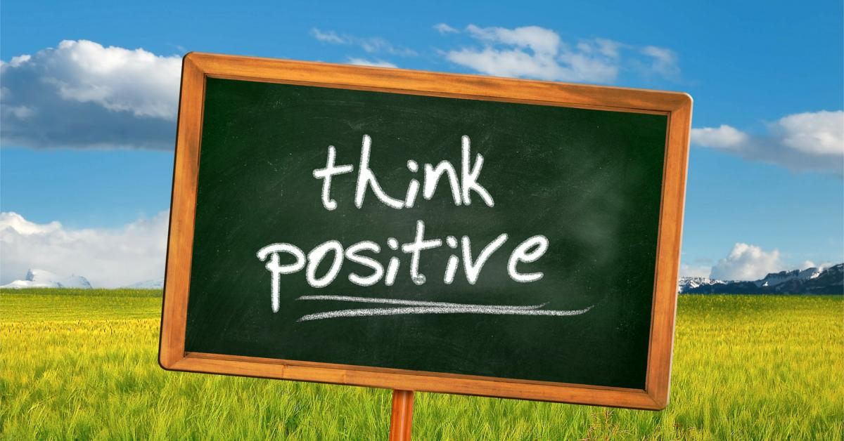 Positive thinking might not make you money – but it could save your life