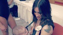 Alessia Spagnulo, la modelo que se presentó a Miss Italia con su bebé