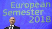 Bruselas propone sacar a Francia del procedimiento por déficit excesivo