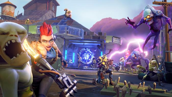 In 'Fortnite,' building is just as important as fighting monsters