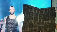 People Love That Adam Levine's Super Bowl Shirt Looked Like Pillows, Curtains