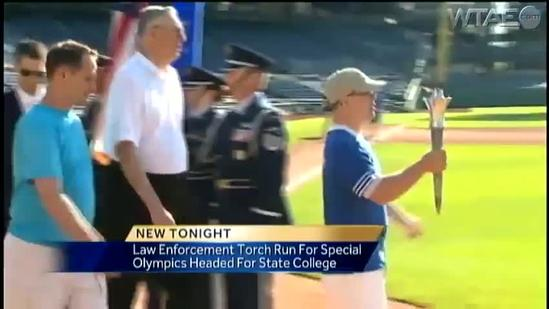 Law enforcement torch run for Special Olympics kicks off at PNC Park