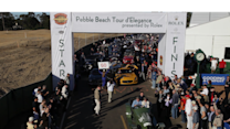Riding in a 1910 Prinz Heinrich Benz during the Pebble Beach Tour d'Elegance