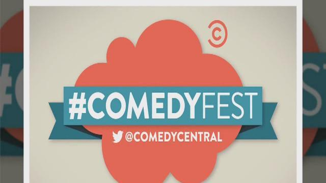 Twitter and Comedy Central to hold #ComedyFest