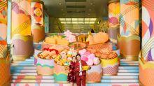 【農曆新年2020】尖沙咀巨型花形全盒 捐款予香港血癌基金換利是封