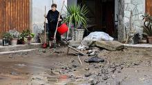 De nombreux dégâts après le passage de la tempête Alex dans le nord-ouest de l'Italie