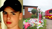 Boy, 17, 'stabbed to death by a teenager with combat knife after Facebook row'
