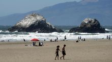 The Latest: Californians mostly avoid beaches over weekend