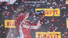 Raikkonen vence en el Gran Premio de EEUU, Hamilton tendrá que esperar para conseguir el título