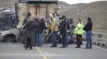Tribe vows to fight North Dakota pipeline through winter