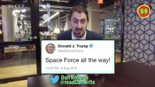 Business + Coffee: Space Force, bacon at Chipotle, betting at Buffalo Wild Wings