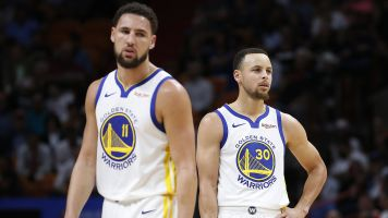 Splash Brothers take part in peaceful protest