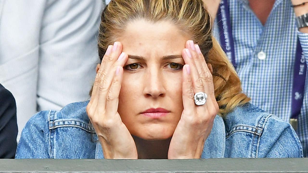 Wimbledon Roger Federer S Wife Mirka Wears 1 Million Ring