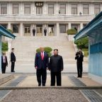 Trump: Positive North Korea correspondence, but no time yet for talks
