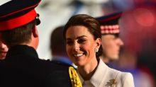 Duchess of Cambridge makes debut at Beating Retreat to take salute