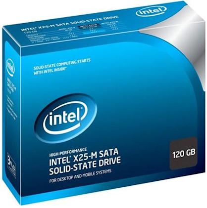 Intel unveils 120GB X25-M SSD, tinkers with 80GB / 160GB model price tags
