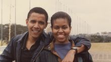 Fans are calling Barack Obama's throwback birthday tribute to Michelle 'real relationship goals'