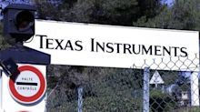 Texas Instruments Stock Falls 4%