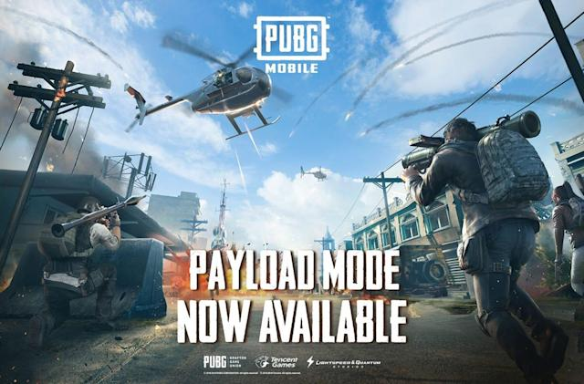 'PUBG Mobile' Payload Mode adds helicopters and airstrikes