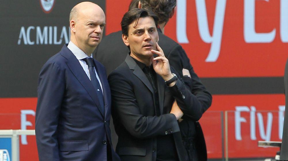 Il Milan 2017-2018 sarà targato Montella: anche senza Europa League
