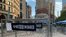 Cages With 'Kids' Pop Up Around NYC To Protest Immigrant Detention